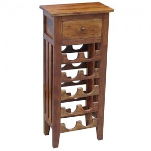 Acacia Lisbon Wine Rack (10 Bottles)