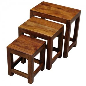 Acacia Lisbon Nest Of Tables (45cm)