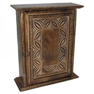 Mango Wood Key Box Celtic Design