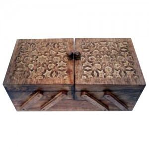 Mango Wood Flexible Sewing Box