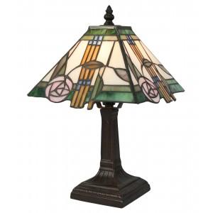 Tiffany Style Mackintosh Lamp 32cm + FREE BULB