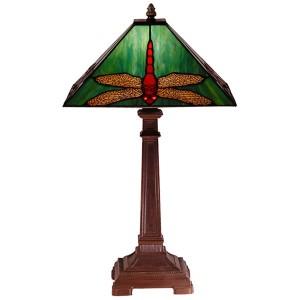 Dragonfly Tiffany Table Lamp Free Bulb - 54cm