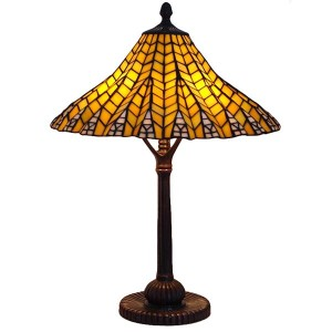 Pyramid Tiffany Table Lamp - 61cm