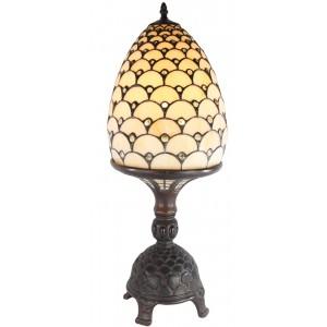 Jewelled Egg On Stand 64cm Tiffany Lamp + Free Bulbs