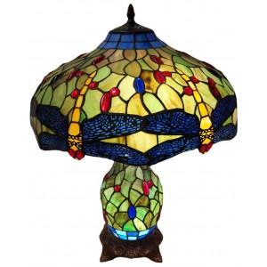 Dragonfly Umbrella Table Lamp 60cm + Free Bulbs