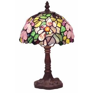 Embossed Grape Lamp 8 Inch Diameter Shade