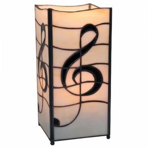 Melody Design Square Tiffany Lamp - 27.5cm