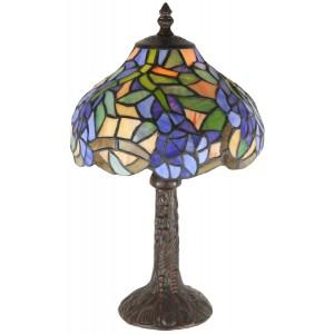 Wisteria Tiffany Table Lamp 33cm (Small) + Free Bulb