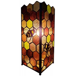 Bumble Bee Square Lamp 27cm