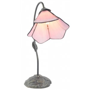 Single Pink Petal Flower Lamp - 49cm + Free Bulb