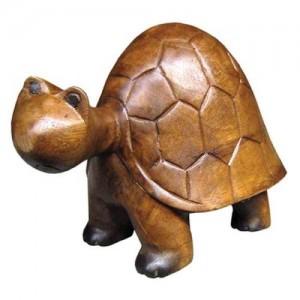 Acacia Wood Tortoise/Turtle - 26cm