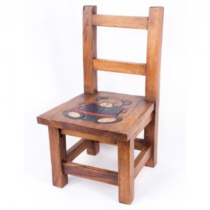 Acacia Wood Teddy Design Child's Chair