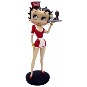 Betty Boop Diner Waitress