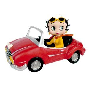 Betty Boop in Sports Car