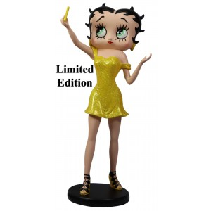 Betty Boop Selfie (Yellow Glitter) 30cm Limited Edition of 500