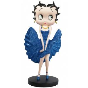 Betty Boop Cool Breeze (Blue Glitter) 32cm Small