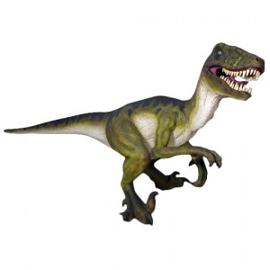 Life Size Dromaeosaurus Dinosaur Resin Statue