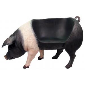 Fat Pig Resin Bench/Seat