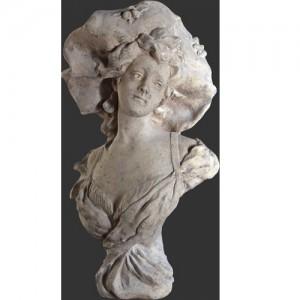 Suzanne Bust - Roman Stone Finish