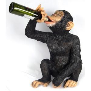 Chimpanzee Monkey Wine Bottle Holder