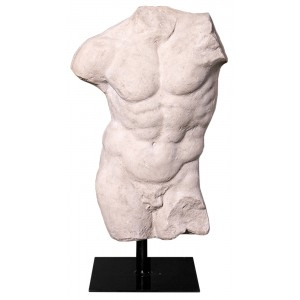 Andrea Male Torso - Roman Stone Finish 78cm