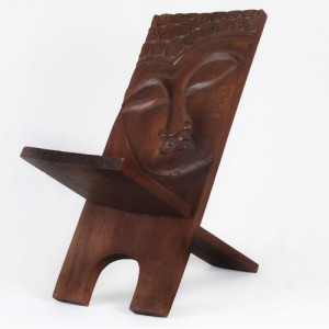 Wani Wood Buddha Chair Stool 70cm