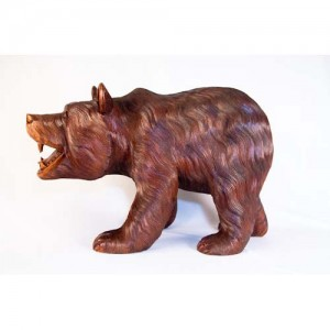 Large Walking Bear Sculpture