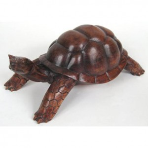 Suar Wood Tortoise/Turtle Finish - 30cm