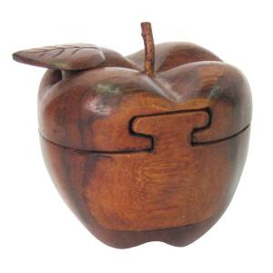 Suar Wood Apple Puzzle Box