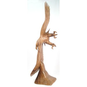 Suar Wood Eagle 100cm