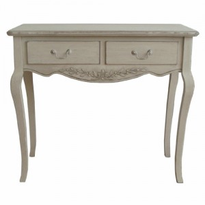 Paris Antique Cream French Style Desk/Dressing Table