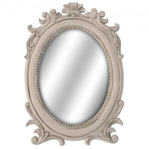 Loire Range French Style Oval Wall Mirror