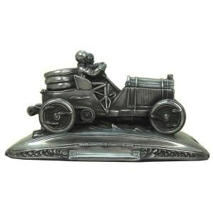 Heroic Vintage Racing Car Pen Tray - Pewter Finish
