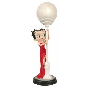 Betty Boop Hide & Seek Lamp Red Dress