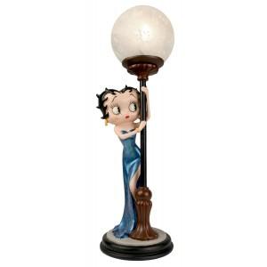 Betty Boop Hide & Seek Lamp Blue Glitter Dress