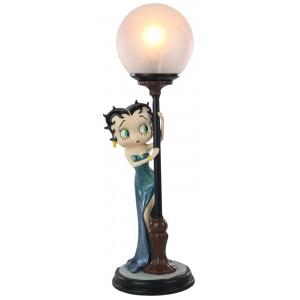 Betty Boop Hide & Seek Lamp Blue Glitter Dress 48cm