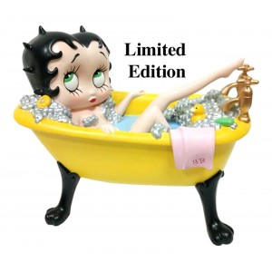 Betty Boop in Yellow Bath Tub Ltd Edt.