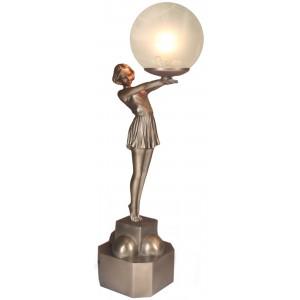 Standing Beach Ball Lamp 47cm