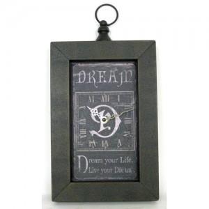 Dream Oblong Wall Clock