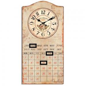 Le Jardin Wall Calendar & Clock