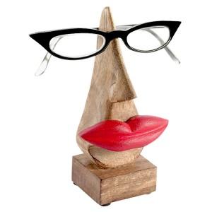 Mango Wood Mrs Glasses Stand