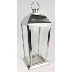 Aluminium Candle Lantern - 65cm