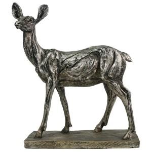 Electroplated Resin Doe / Deer Figure