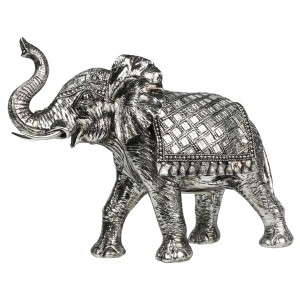 Electroplated Resin Elephant