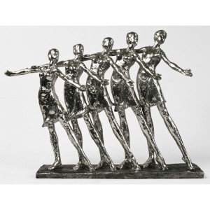 Electroplated Resin Dance Figures - 38cm