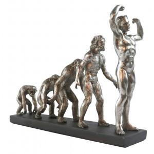 Evolution Of Man Resin Sculpture