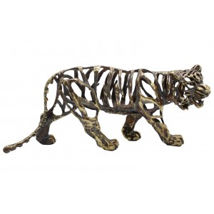 Electroplated Hollow Walking Tiger - 46cm