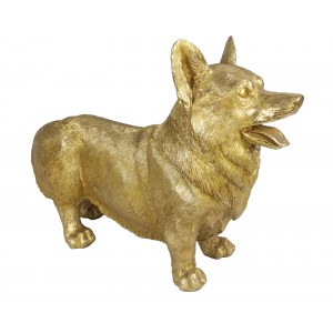 Golden Corgi Dog Welsh Pembroke - 53cm