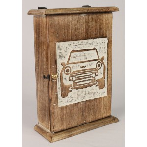 Mango Wood Key Box Car Design