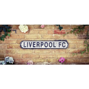 Vintage Road Sign Liverpool
